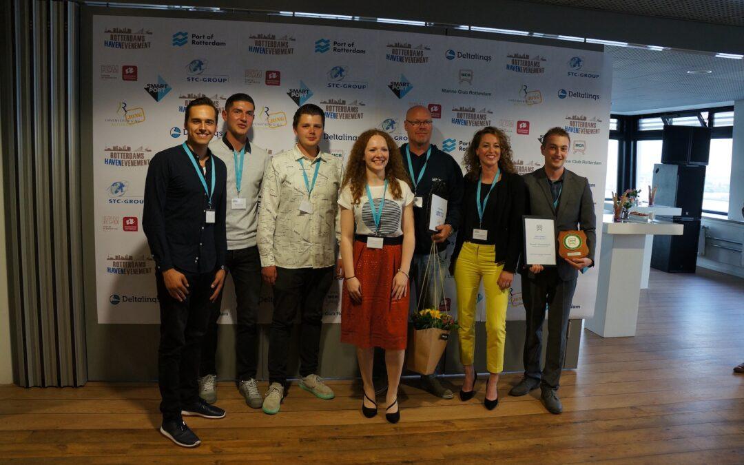 PERSBERICHT – Daphne van Hal – Winnares SmartPort Scriptieprijs 2017