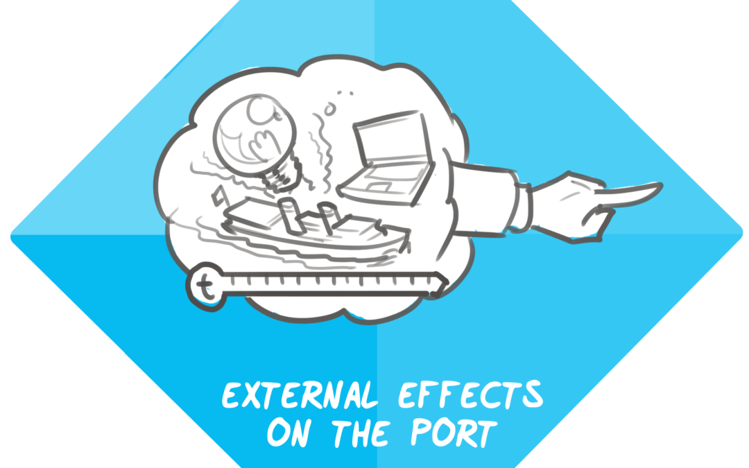 External effects on the port – trends and developments