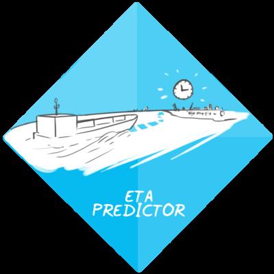 ETA-voorspeller (predictor) zeeschepen voor aankomsttijd haven