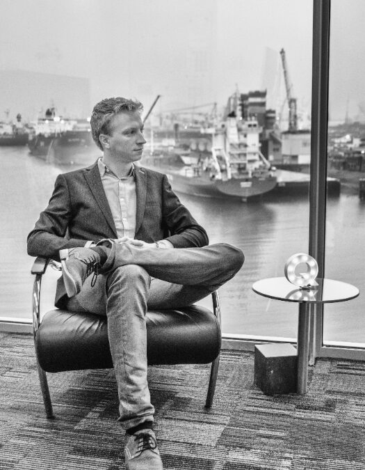 'De grootste in innovativiteit, de Smartest Port' – column Dirk Koppenol in Q.Magazine