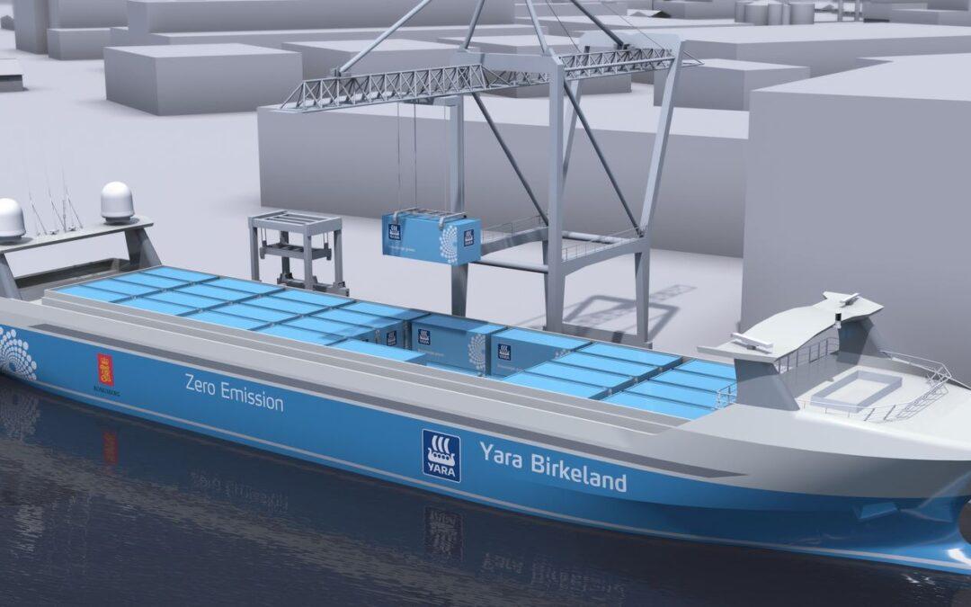 Rotterdam proeftuin voor robotschip