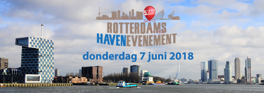 Finalisten lustrumeditie Rotterdams Havenevenement bekend