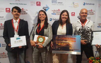 Winnaars van het Rotterdams Havenevenement 2018