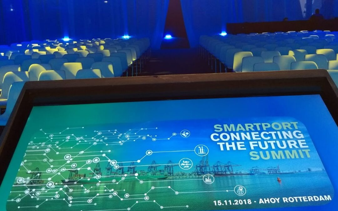 SmartPort Summit 2018 'voorproefje van de toekomst'
