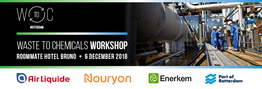 6 december 2018 – Workshop Waste to Chemicals