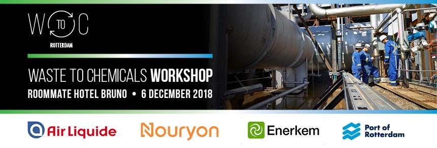 6 december 2018 – Workshop Waste to Chemicals