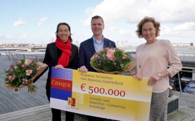 SmartPort ontvangt half miljoen subsidie voor versterking van innovatienetwerk