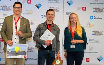 Emma de Koning wint SmartPort Scriptieprijs