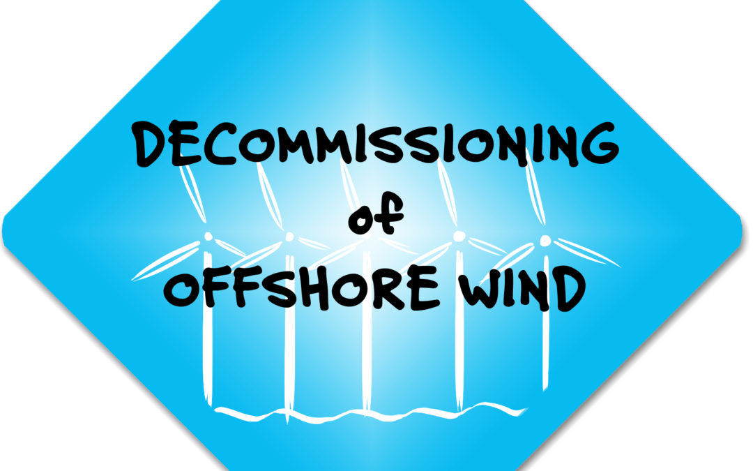 Decommissioning offshore windturbines