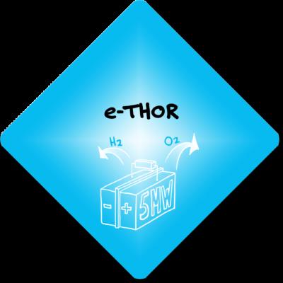 e-THOR: ketens sluiten met een elektrolyser
